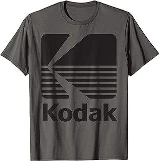 80's Vintage Kodak Logo - Black T-Shirt