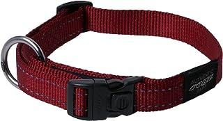 Rogz Reflective Dog Collar, Red X-Large