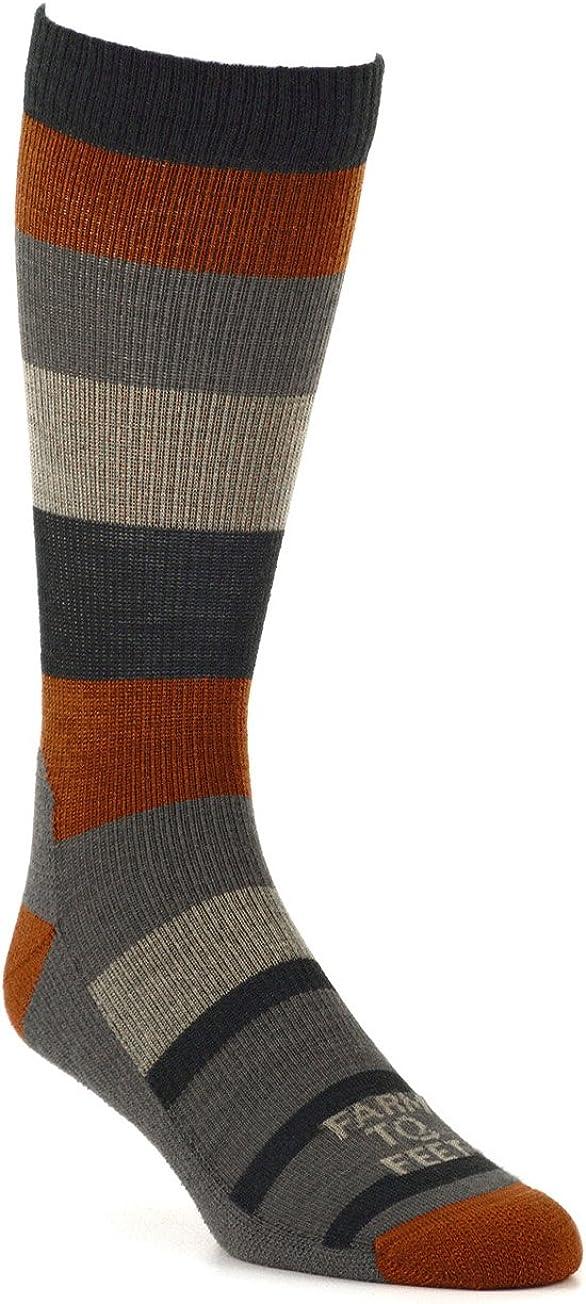 Farm to Feet Men's Rutherford College Lightweight Crew Socks
