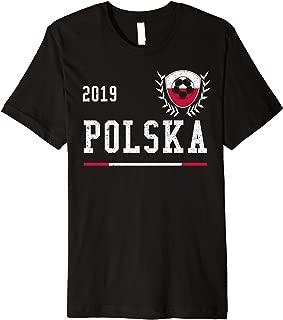 Poland Football Jersey 2019 Polish Soccer T-shirt