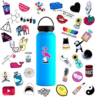 Cute Water Bottle Stickers Waterproof for Teens Girls 45PCS,Trendy Stickers Decals for Hydro Flask,Laptop,Computer,Mackbook,Notebook