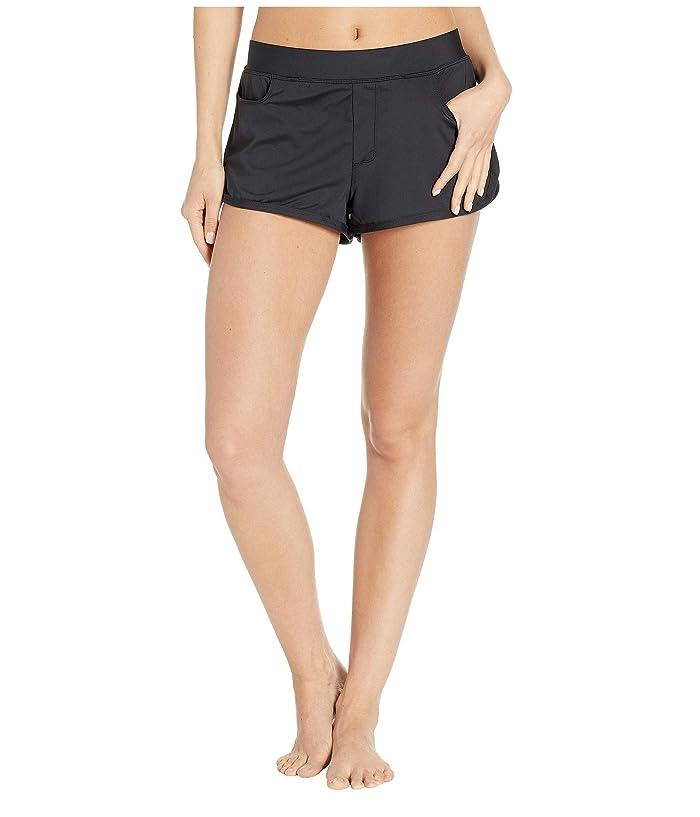 Carve Designs Lorenzo Swim Shorts (Black) Women