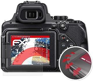 18 Unidades Savvies Protector de Pantalla Compatible con Nikon Coolpix P1000 Transparente