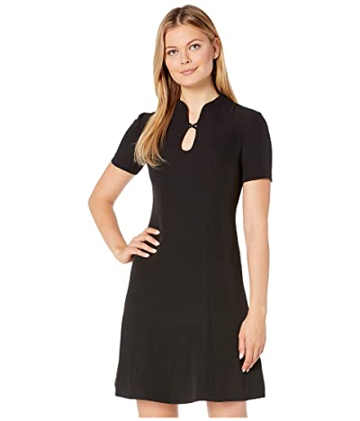 NIC+ZOE Leading Lady Dress (Black Onyx) Women