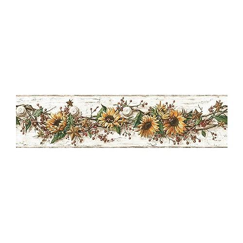 Sunflower Border Amazon Com