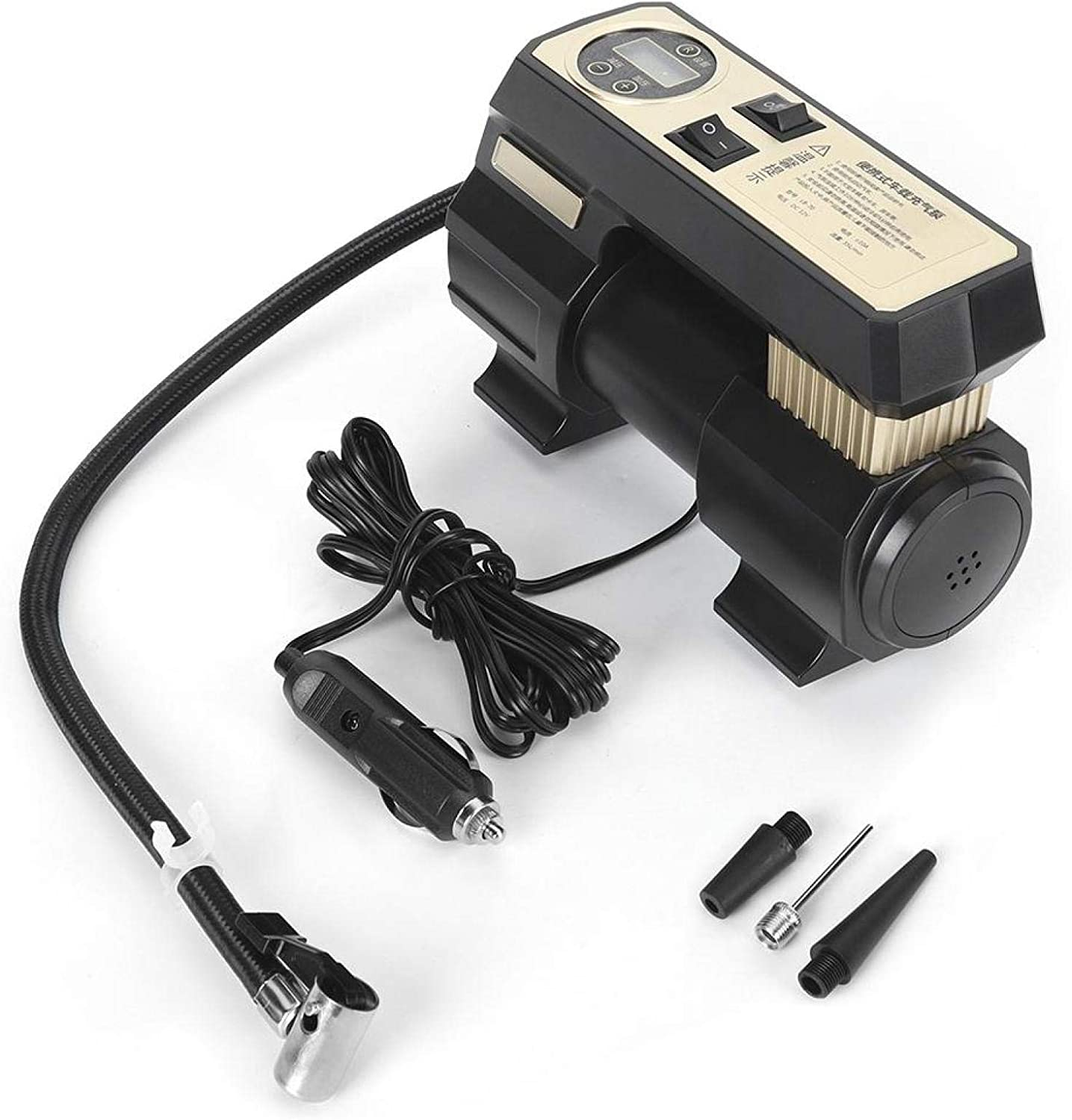 Akozon Car Inflatable Pump Portable Max 84% OFF 12V Digital Multi-Functional In a popularity