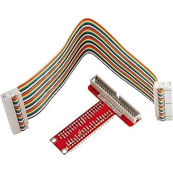 AZDelivery GPIO Breakout et compatible Ribbon câble pour Raspberry Pi 3 / Zero / 2 / B + / A + A + y compris un eBook