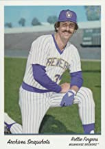 2016 Topps Archives Snapshots #AS-RF Rollie Fingers Baseball Card