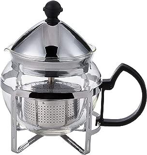 Service Ideas T600CC Press Coffee Tea 4 Cup Chrome