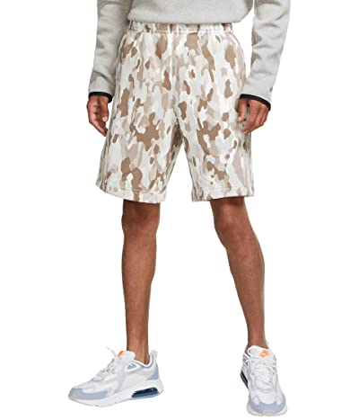 Nike NSW Club Shorts Camo (Olive Grey/Summit White/White) Men