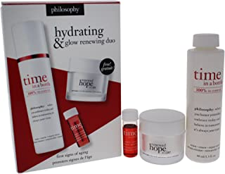 Hydrating & Glow Renewing Duo: Time In A Bottle Serum+activator+renewed Hope In A Jar - 3pcs