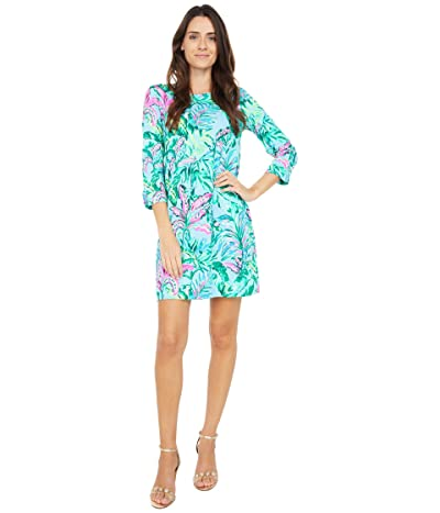 Lilly Pulitzer Linden Dress (Porto Blue in The Trees) Women