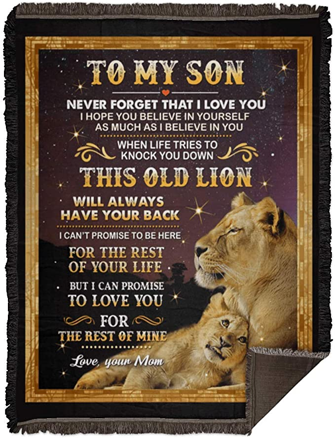 Lion To My Son Never Feel That You Are Alone Big Hug Love Mom ...