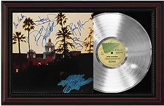 Eagles - Hotel California Silver Emerging Sleeve Framed Signature Display M4