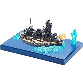 フジミ模型 ちび丸艦隊シリーズ No.28EX-1 ちび丸艦隊 山城 (エフェクトパーツ付き) 全長約11cm ノンスケール 色分け済み プラモデル ちび丸28EX-1