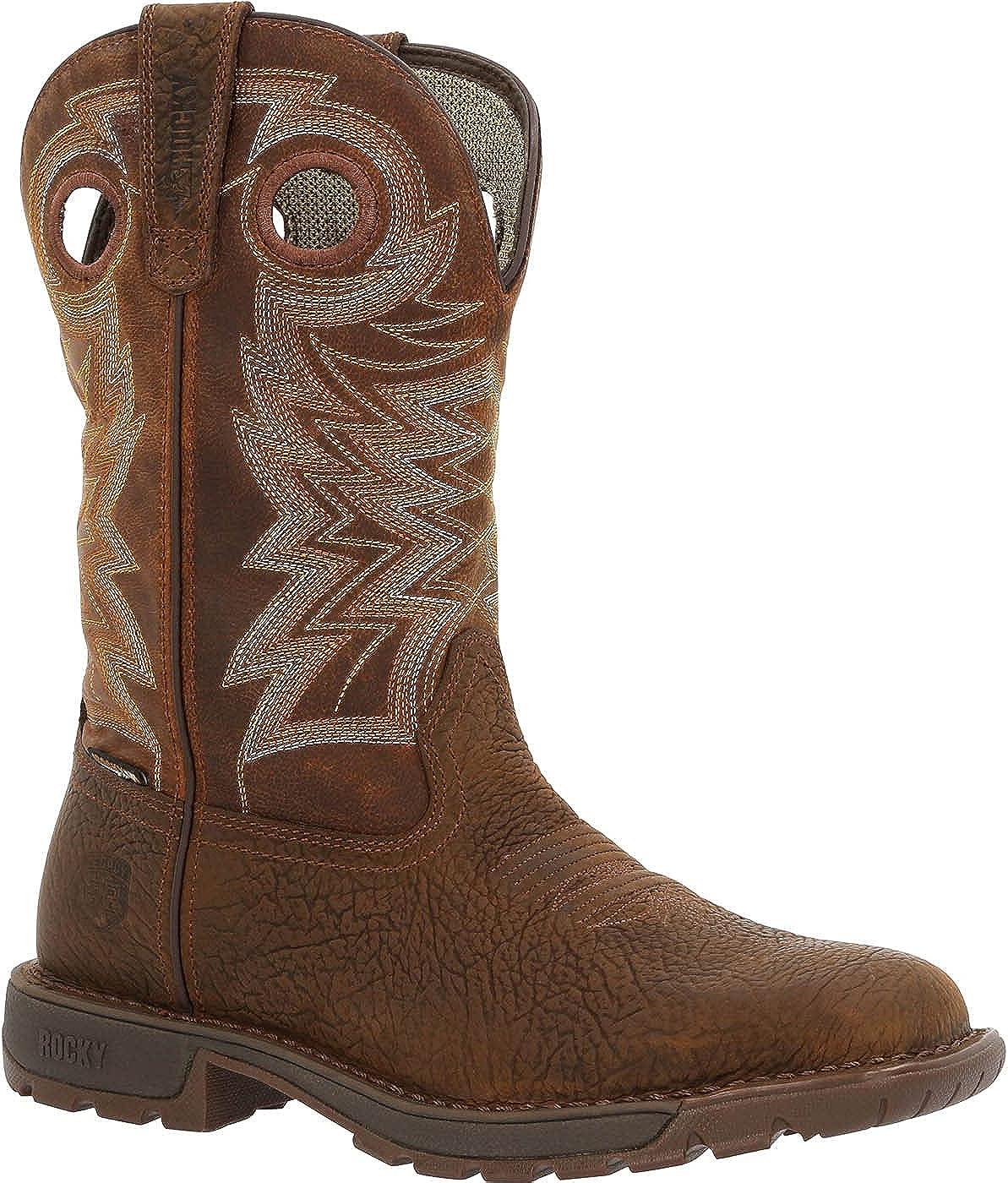 Rocky Legacy 32 Waterproof Western Boot Size 8(W)