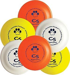 قرص الكلاب القياسي K-10 منافسيشن من هايبرفلايت، متعدد الألوان، عبوة من 6 قطع