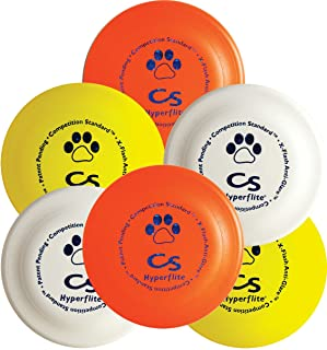 Hyperflite K-10 Competition Standard Dog Disc,multi,6 Pack