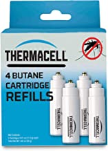 Thermacell Mosquito Repellent Fuel-Only Refills, 4-Pack; Cartridges Last 12 Hours Each; Use with Thermacell Fuel-Powered M...