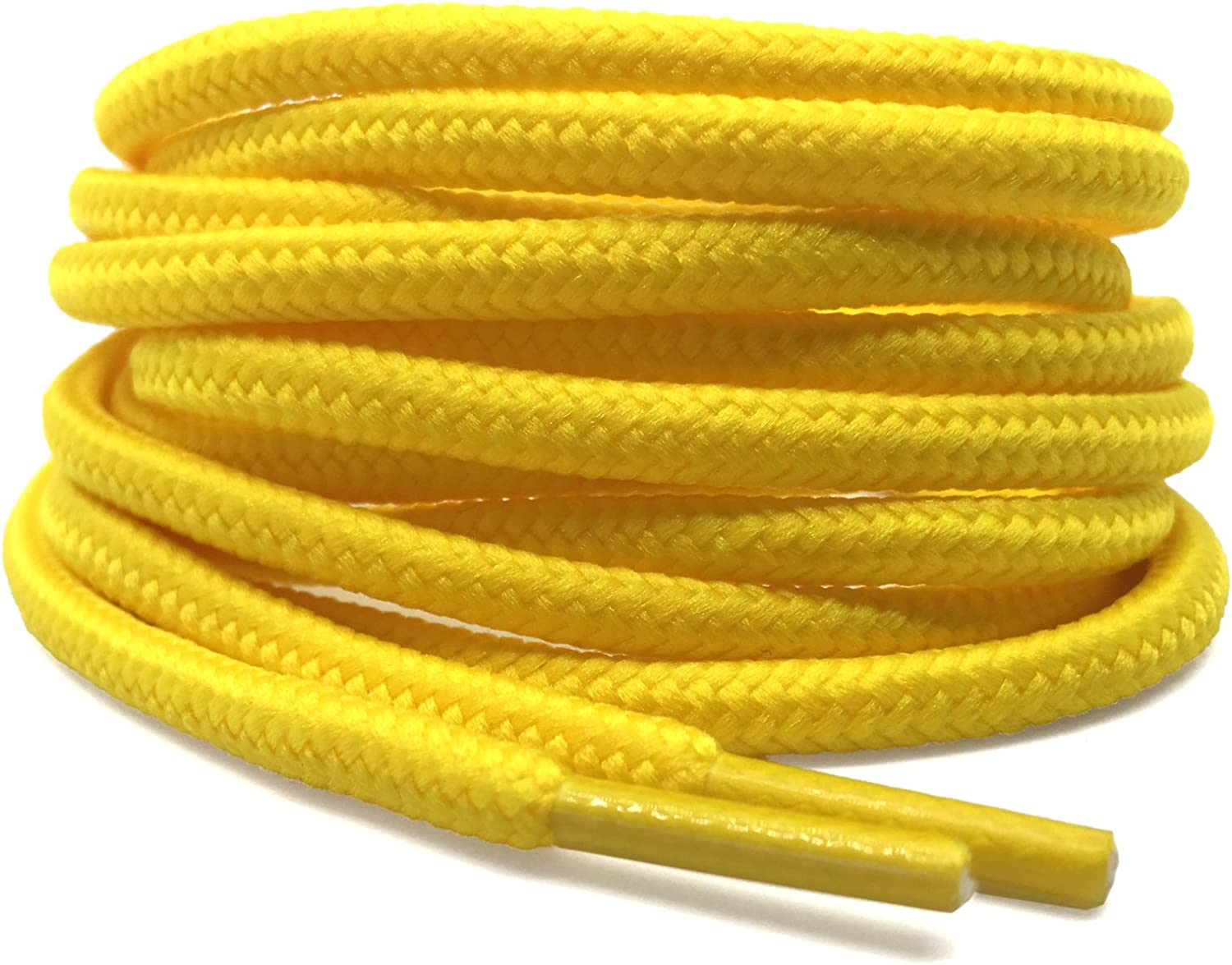 YFINE Daily bargain sale 2 Pair Athletic Charlotte Mall Shoelaces Round for Boots Laces Shoe Shoes