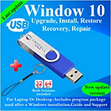 Compatible Windows 10 all Version Install To Factory Upgrade Recovery Repair Reinstall Clean Reboot Restore Fix Update Boo...