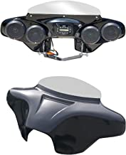 Batwing Fairing for Honda VTX 1300 1800 with Infinity PRV250 and 4x5.25