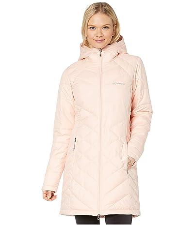 Columbia Heavenly Long Hooded Jacket (Peach Cloud) Women