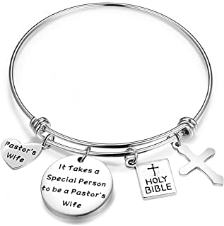 MAOFAED Pastor's Wife Gift It Takes a Special Person to Be a Pastor's Wife Minister's Wife Gift Religious Jewelry