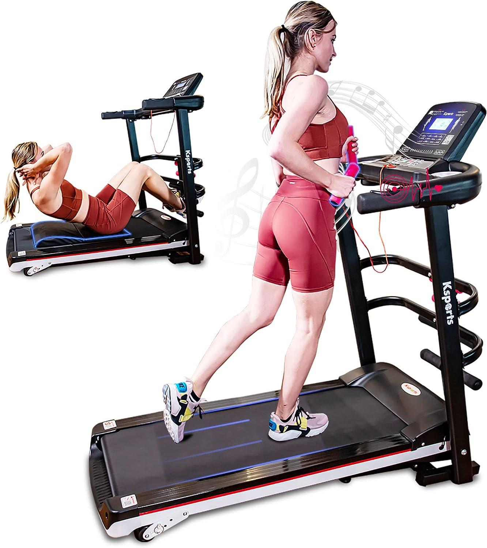 Ksports Treadmill Bundle Comprising Folding Treadmil San Antonio Mall of excellence Electric