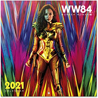 $25 » Grupo Erik Official DC Comics Wonder Woman 2021 Wall Calendar 11.8 x 11.8 inches (12 months - Free Poster Included) Family...
