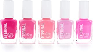 Eternal 5 Collection: So Pink - 5 Pieces Set: Long Lasting, Quick Dry Nail Polish