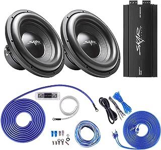Skar Audio (2 SDR-12 D4 1,200 Watt Max Power 12
