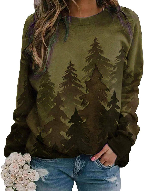 Christmas Shirts for Women,Women Sweatshirts Pullover Tops Christmas Casual Sweater Shirts Tunic