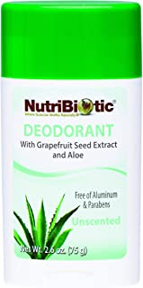 Nutribiotic Deodorant, Unscented, 2.6 Ounce
