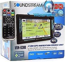 Soundstream VRN‐63HB in Dash Media, 6.2