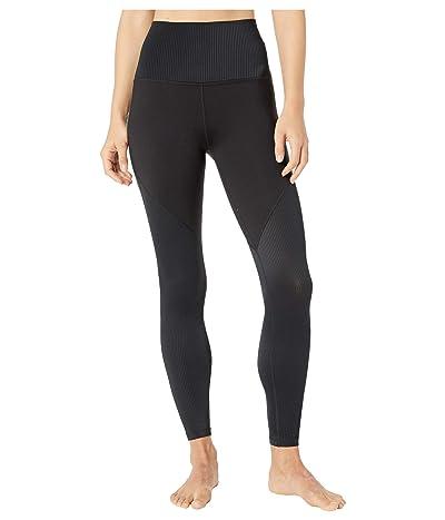 Beyond Yoga Line Of The Times High Waisted Midi Leggings (Black) Women