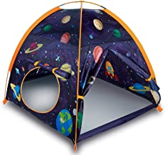 "Space World Play Tent Playhouse, 48""x48""x42"" Indoor Outdoor Astronaut Space Toddler Kids Tent , Kids Galaxy Dome Tent for ..."