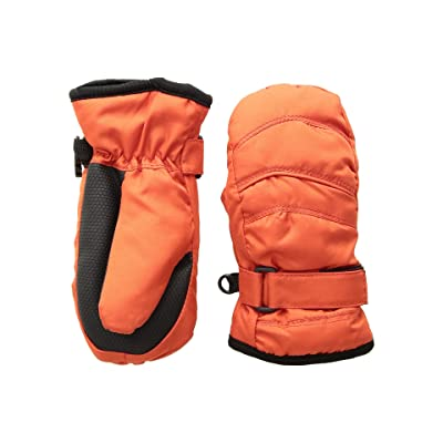 Tundra Boots Kids Nylon Mittens (Red) Extreme Cold Weather Gloves