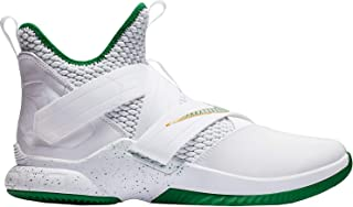 Nike Lebron Soldier XII Mens Ao2609-100 Size 10 White/Multi-Color