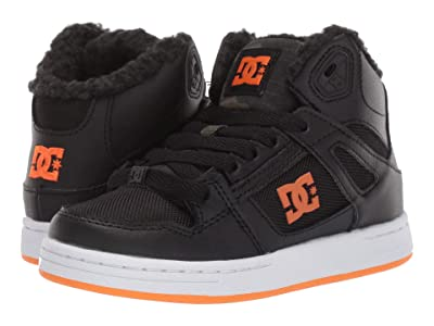 DC Kids Pure High-Top WNT (Little Kid/Big Kid) (Black Camo) Boys Shoes