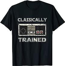 Classically Trained Retro Gamer Shirt Design T-Shirt