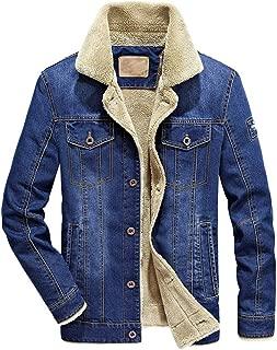 Fashion Autumn Winter Pocket Button Flick Denim Hooded Jacket Top Coat Men