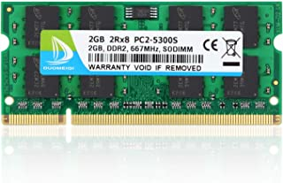 2x1GB New 2GB KIT PC2-5300S DDR2-667 667MHz 200pin for Acer Aspire 1410 Series