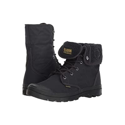Palladium Pallabrousse Baggy TX (Anthracite/Black) Lace-up Boots