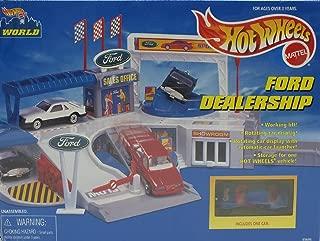 Hot Wheels Ford Dealership Playset (Hot Wheels World) (1996)