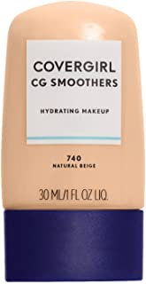 COVERGIRL Smoothers Hydrating Makeup Foundation, Natural Beige (packaging may vary)