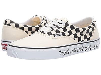 Vans Eratm ((Vans BMX) White/Black) Skate Shoes