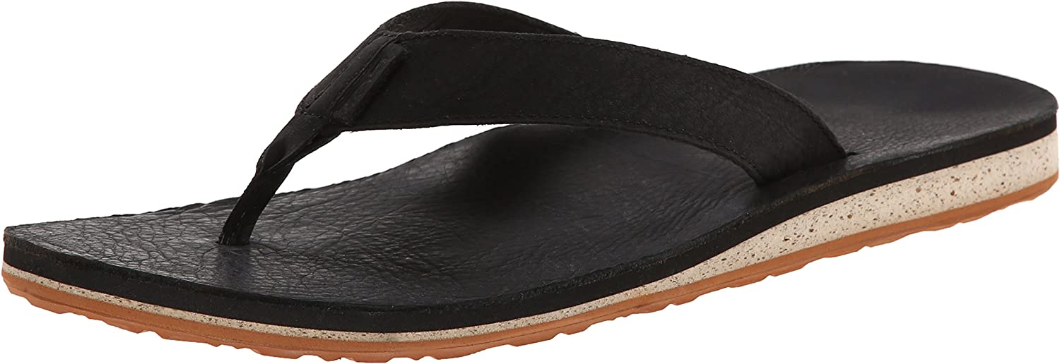 Teva Men's Classic Premium Leather Flip-Flop