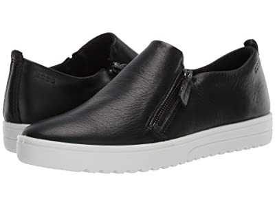 ECCO Fara Slip-On (Black Cow Leather) Women