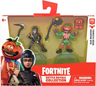 Fortnite Battle Royale Collection: Tomatohead & Shadow Ops - 2 Pack of Action Figures